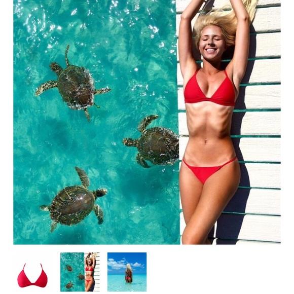 lsea swimwear Other - Lsea swimwear red bikini super cheeky